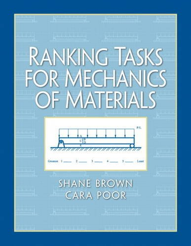 Ranking Tasks for Mechanics of Materials   2011 9780132149525 Front Cover