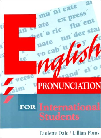 English Pronunciation for International Students  1st 1994 edition cover