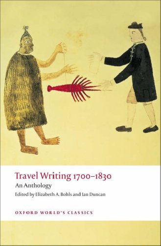 Travel Writing 1700-1830 An Anthology  2008 edition cover