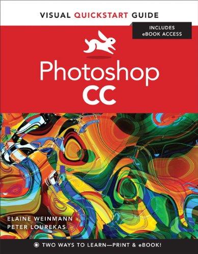 Photoshop CC Visual QuickStart Guide  2014 edition cover