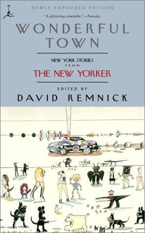 Wonderful Town New York Stories from the New Yorker  2001 edition cover
