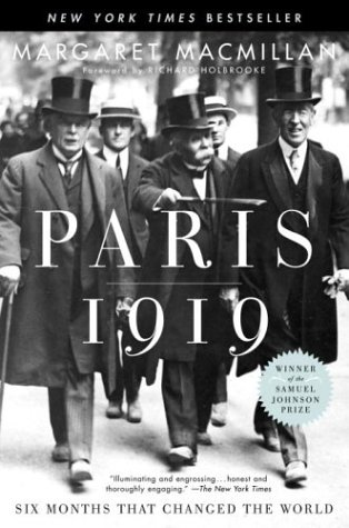 Paris 1919 Six Months That Changed the World  2003 edition cover