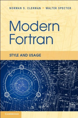 Modern Fortran Usage and Style  2011 9780521730525 Front Cover