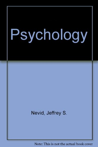 Psychology with Webcard 2nd 2007 9780618751525 Front Cover