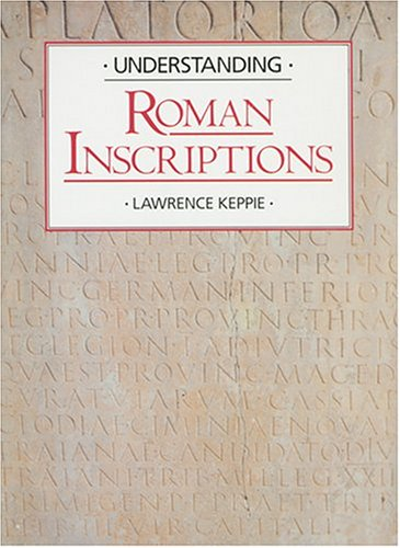 Understanding Roman Inscriptions   1991 edition cover