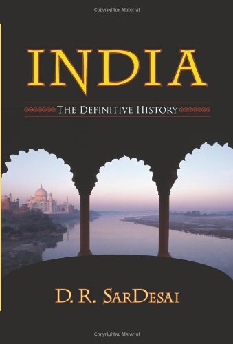 India The Definitive History  2007 edition cover