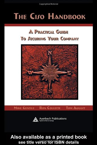 CISO Handbook A Practical Guide to Securing Your Company  2005 edition cover