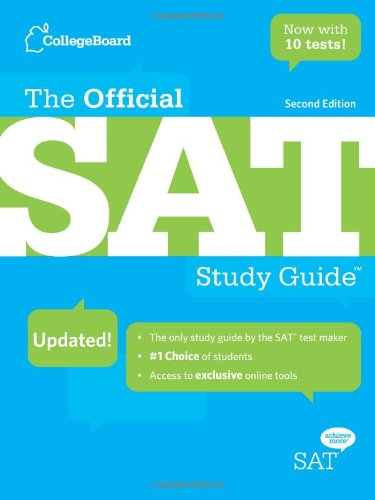 Official SAT Study Guide  2nd 2009 (Revised) 9780874478525 Front Cover