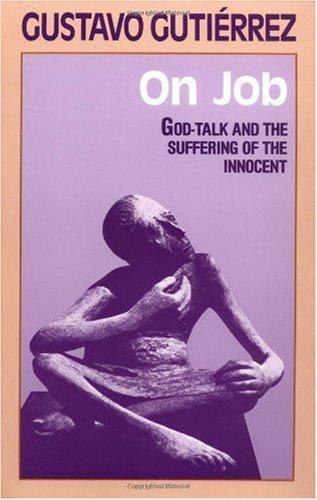 Hablar de Dios Desde el Sufrimento Del Inocente   1987 edition cover