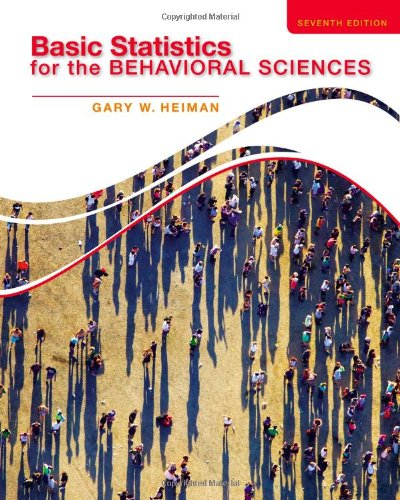 Basic Statistics for the Behavioral Sciences:   2013 edition cover
