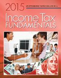 Income Tax Fundamentals 2015 (With H&r Block Tax Preparation Software Cd):   2014 edition cover