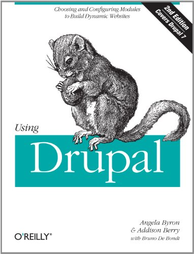 Using Drupal  2nd 2011 edition cover