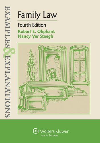 Family Law:   2013 edition cover