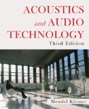 Acoustics and Audio Technology  3rd 2011 edition cover
