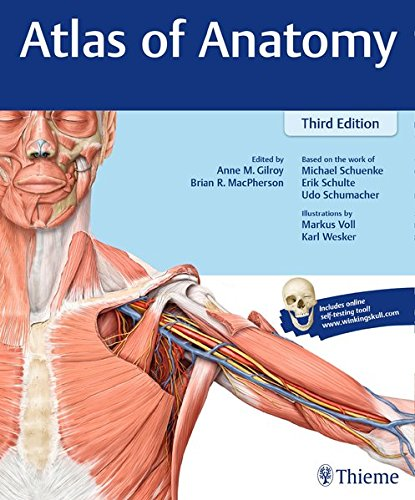 Atlas of Anatomy: 3rd 2016 9781626232525 Front Cover