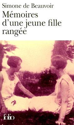 Memoires D'une Jeune Fille Rangee  1958 edition cover