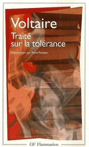 TRAITE SUR LA TOLERANCE 1st edition cover