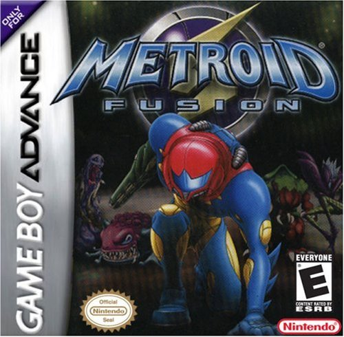 Metroid Fusion Game Boy Advance artwork