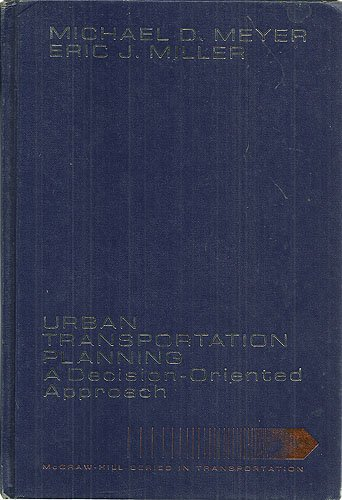Transportation Planning : A Decision-Oriented Approach  1984 edition cover