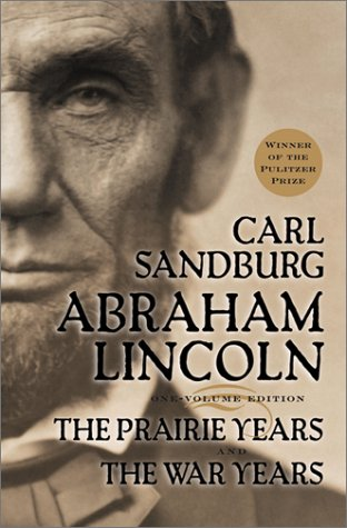Abraham Lincoln The Prairie Years and the War Years  1974 edition cover