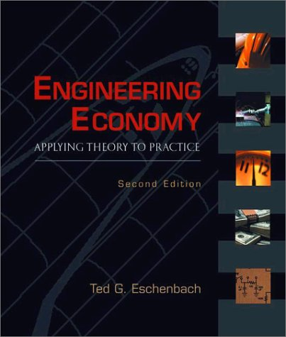 Engineering Economy Applying Theory to Practice 2nd 2003 (Revised) 9780195161526 Front Cover