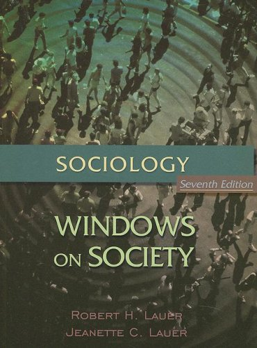 Sociology: Windows on Society An Anthology 7th 2005 9780195330526 Front Cover