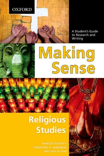 Making Sense in Religious Studies A Student's Guide to Research and Writing  2011 edition cover