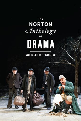 Norton Anthology of Drama  2nd 2014 edition cover