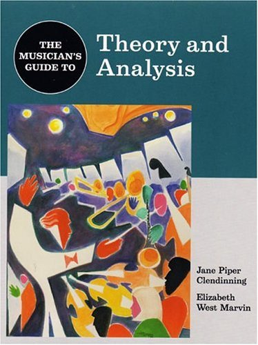 Musician's Guide - Theory and Analysis   2004 edition cover