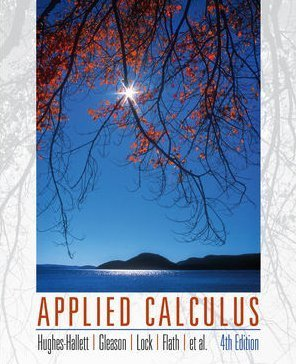 Applied Calculus  4th 2010 edition cover