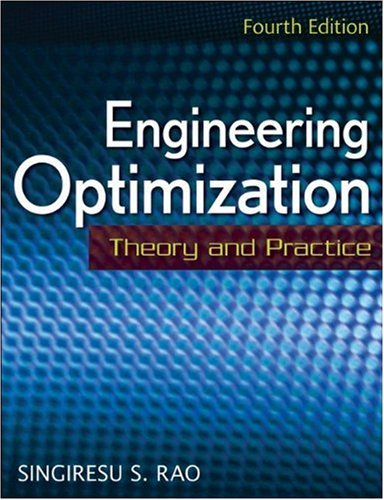 Engineering Optimization Theory and Practice 4th 2009 edition cover