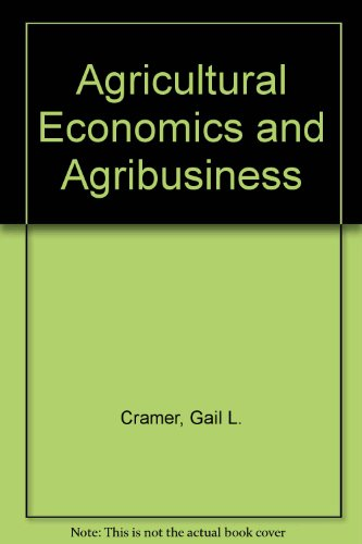 Agricultural Economics and Agribusiness  6th 1994 9780471595526 Front Cover