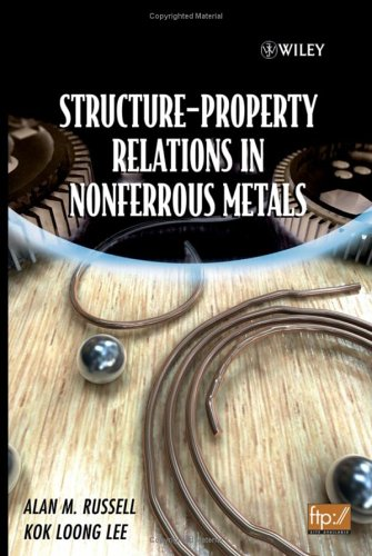 Structure-Property Relations in Nonferrous Metals   2005 9780471649526 Front Cover