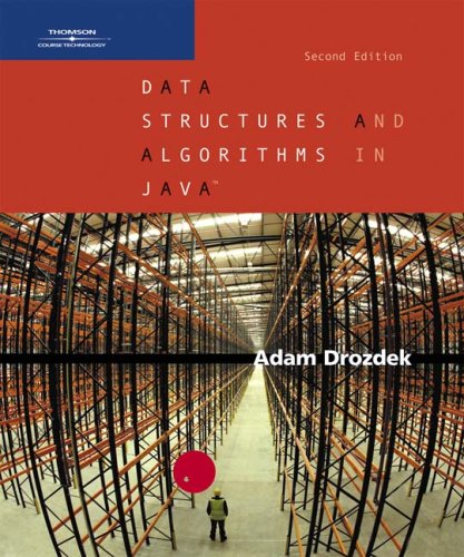 Data Structures and Algorithms in Java  2nd 2005 (Revised) 9780534492526 Front Cover