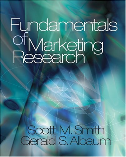 Fundamentals of Marketing Research   2005 9780761988526 Front Cover