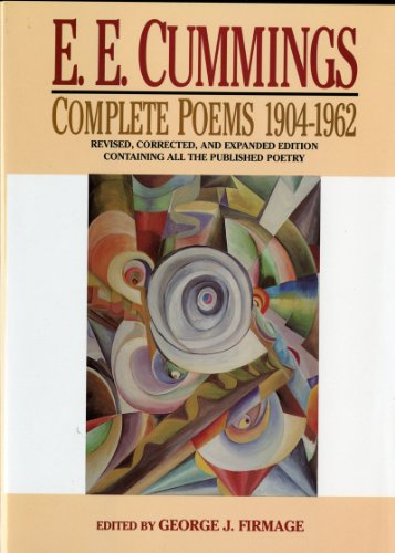 E. E. Cummings Complete Poems, 1904-1962  1994 (Revised) edition cover