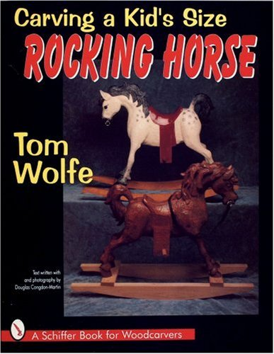 Carving a Kid's Size Rocking Horse   2016 9780887408526 Front Cover