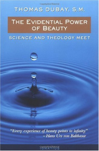Evidential Power of Beauty Science and Theology Meet  1999 edition cover