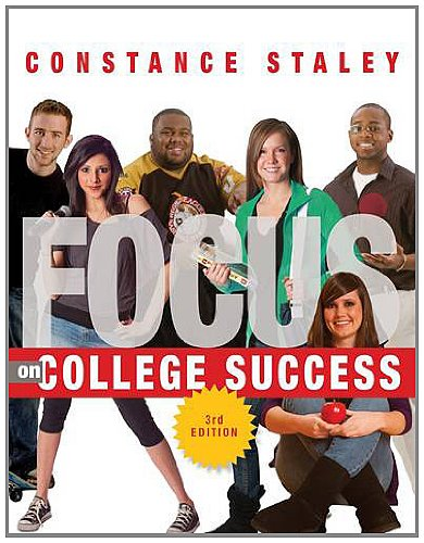 FOCUS on College Success  3rd 2013 edition cover