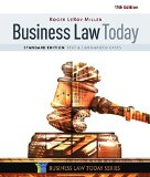 Business Law Today, Standard: Text & Summarized Cases  2016 9781305644526 Front Cover