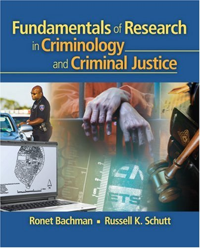 Fundamentals of Research in Criminology and Criminal Justice   2008 edition cover