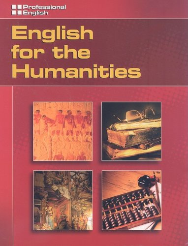 English for the Humanities   2007 edition cover