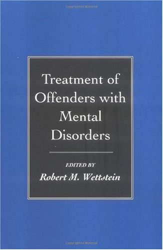 Treatment of Offenders with Mental Disorders   1998 edition cover