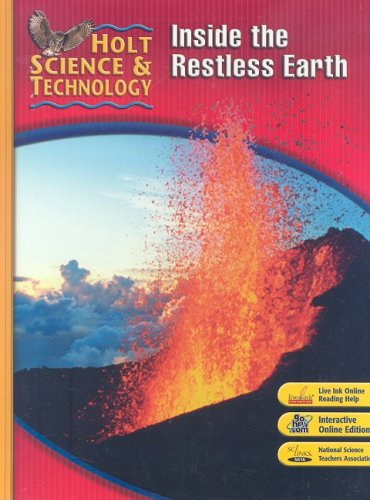 Holt Science & Technology: Inside the Restless Earth, Short Course F  2007 edition cover