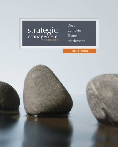 Strategic Management - Text and Cases:   2013 edition cover