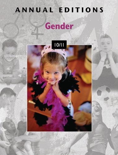 Annual Editions: Gender 10/11   2010 edition cover