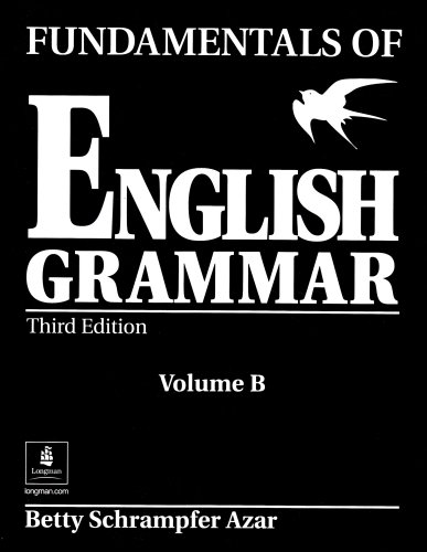 Fundamentals of English Grammar  3rd 2003 (Student Manual, Study Guide, etc.) edition cover