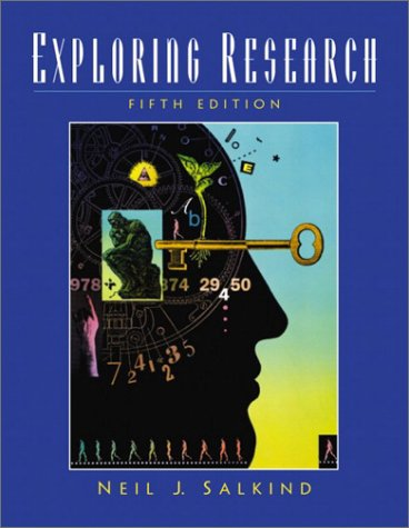 Exploring Research  5th 2003 9780130983527 Front Cover