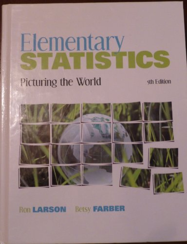 ELEMENTARY STATISTICS W/CD 5th 2012 edition cover