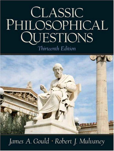 Classic Philosophical Questions  13th 2009 edition cover